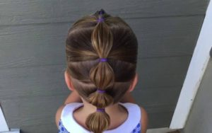 #1 Bubble Ponytail