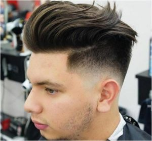 #1 Pompadour Haircut