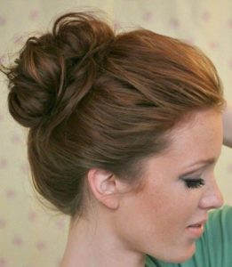 #3 10 Second Top Knot steps