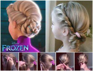 #3 Elsa's Coronation Bun