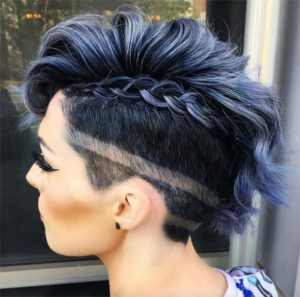 A modern undercut can leave you with more than what you were wishing for
