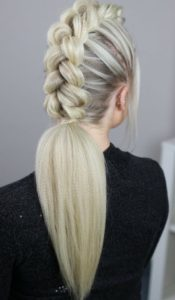 A simple braid will always be a great option for you to try on