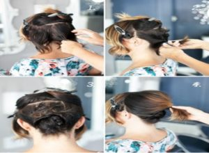 Among the options of natural hairstyles, you can also find alternatives for your short hair for more formal occasions