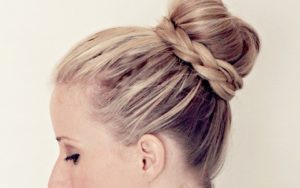 Ballerina Bun with Braids!