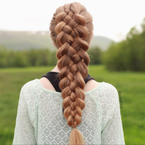 Before jumping to the braided hairstyles let's first talk about some of the different types of braids you can do and how to do them 5