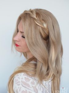 Braided hair band