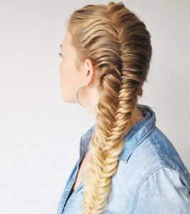 Braids are a great option for all long hair types and a perfect option for you