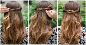 Easy and cool hairstyles for girls with medium hair