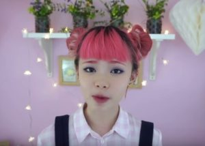 Fluffy Twin Socks Bun Hairstyle (for short hair)
