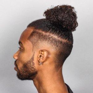 Hairstyle #1 Black bun