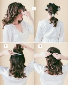 Hairstyle #1 Loose Braided Bun 1