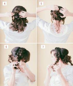 Hairstyle #1 Loose Braided Bun 2