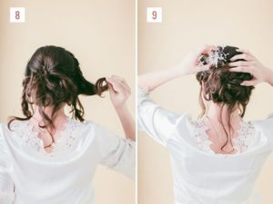 Hairstyle #1 Loose Braided Bun 3
