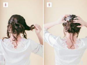 Hairstyle #1 Loose Braided Bun 3