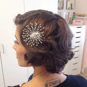 Hairstyle #1 Vintage curls