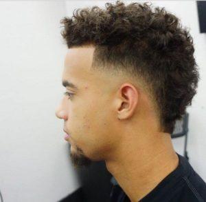 Hairstyle #2 Faux hawk + degrade