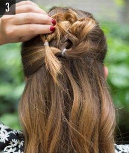 Hairstyle #3 Flower braid 4