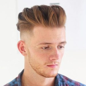 Hairstyle #3 Undercut with twist back top