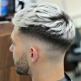 Hairstyle #4 Two color men's undercut