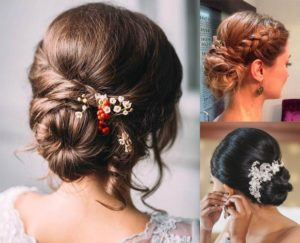 Hairstyles with buns
