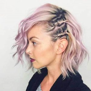Here is how to get this beautiful half faux Mohawk
