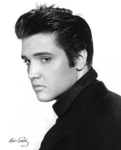 Modern men stand for retro hairstyles