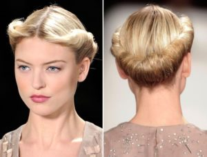 Pin up short hair, who would say that a natural hairstyle would be so simple