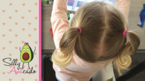 Ponytails for little girl