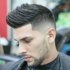 Short on the sides and long on the top cool hairstyles 2
