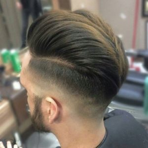 Short on the sides and long on the top cool hairstyles
