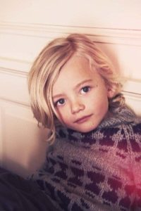 Shoulder length hairstyles for little boys