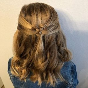 Shoulder length hairstyles for little girls