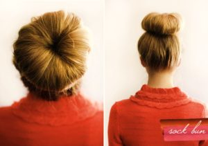 The Ballerina or Sock Bun!