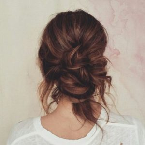 The Loose Low Bun
