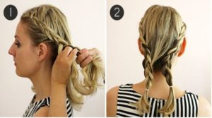 The best friends of the natural hairstyles are the braids, try this beautiful hairstyle, you will be fascinated