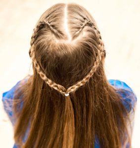 The heart braid