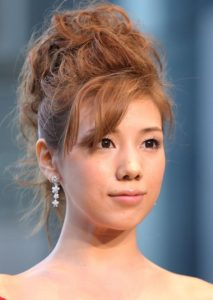 Updo Asian hairstyles