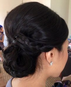 Updo Asian hairstyles 4