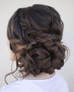 Updo hairstyles for Prom night