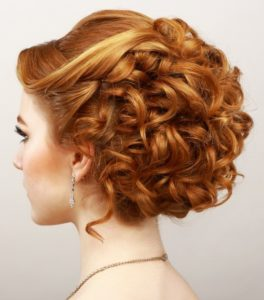 Updo hairstyles for Prom night 4