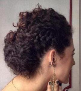 Updo hairstyles for curly hair 4