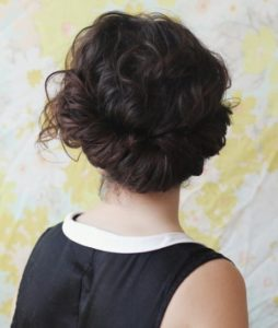 Updo hairstyles for curly hair 5