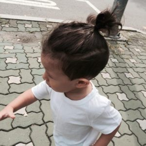 Updo hairstyles for little boys