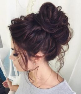 Updo hairstyles for long hair 2
