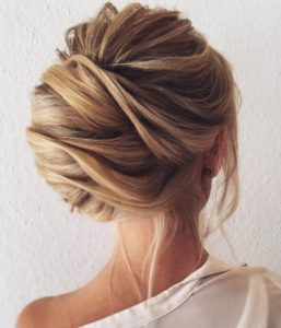 Updo hairstyles for long hair 4
