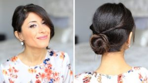 Updo hairstyles for medium length hair 2