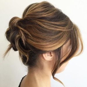 Updo hairstyles for medium length hair 3
