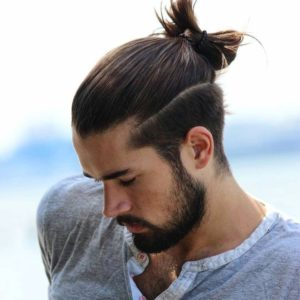 Updo hairstyles for men