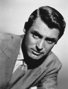 cary grant slicked side part