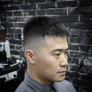 crew asian haircut
